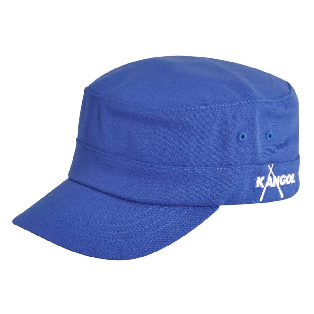 Kangol Championship Army Cap in Blue,Grey