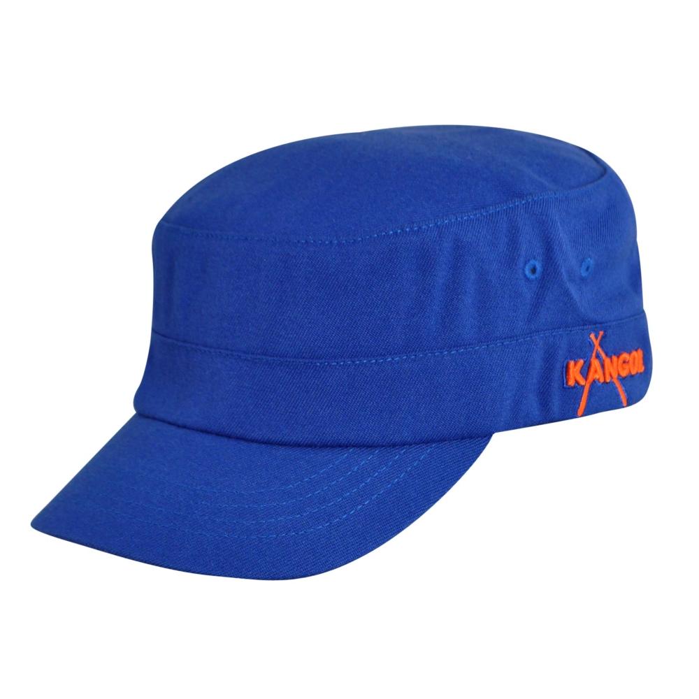 Kangol Championship Army Cap in Blue,Orange