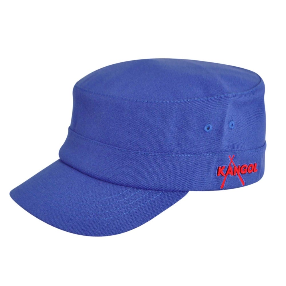 Kangol Championship Army Cap in Blue,Red