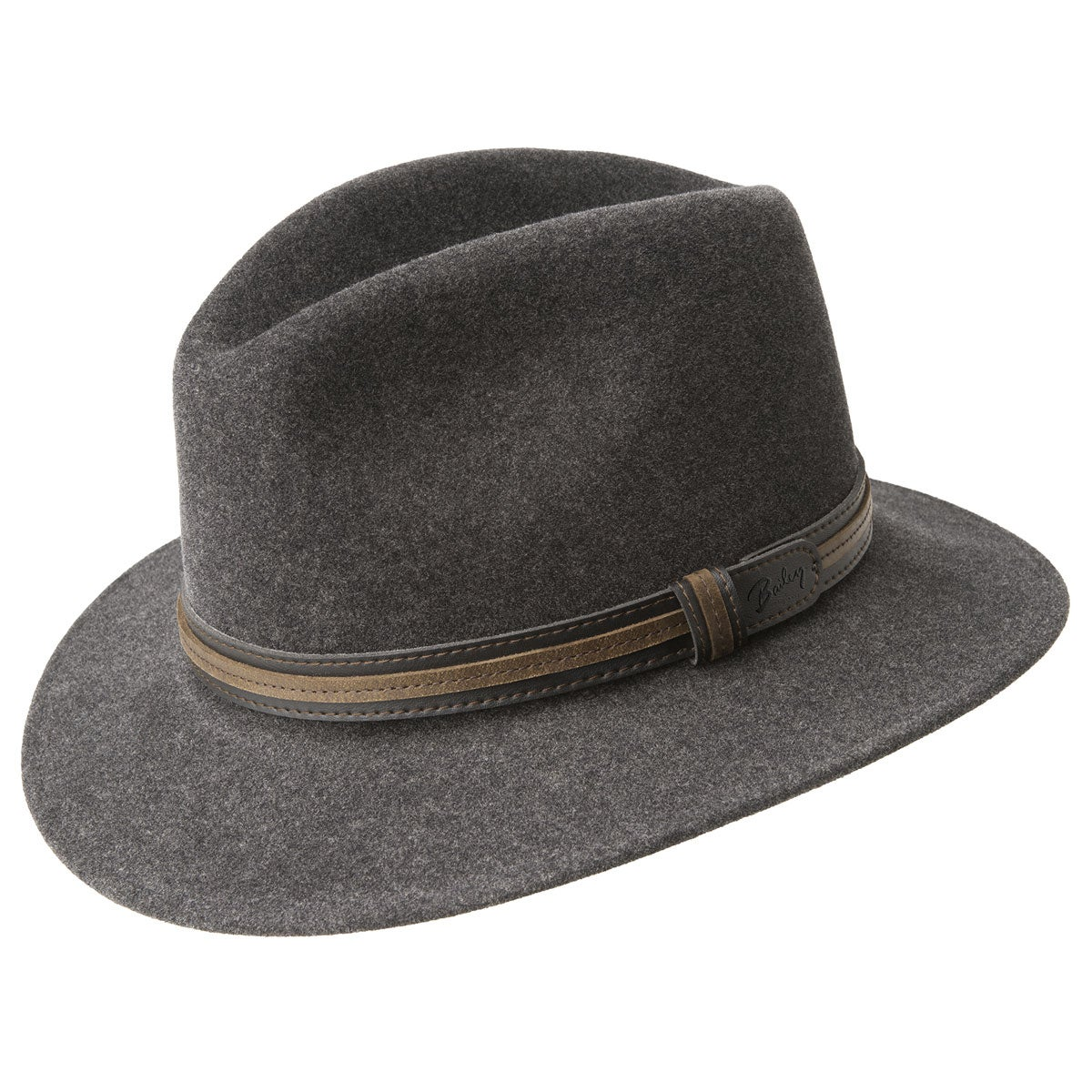 Bailey of Hollywood Brandt Fedora in Black Mix