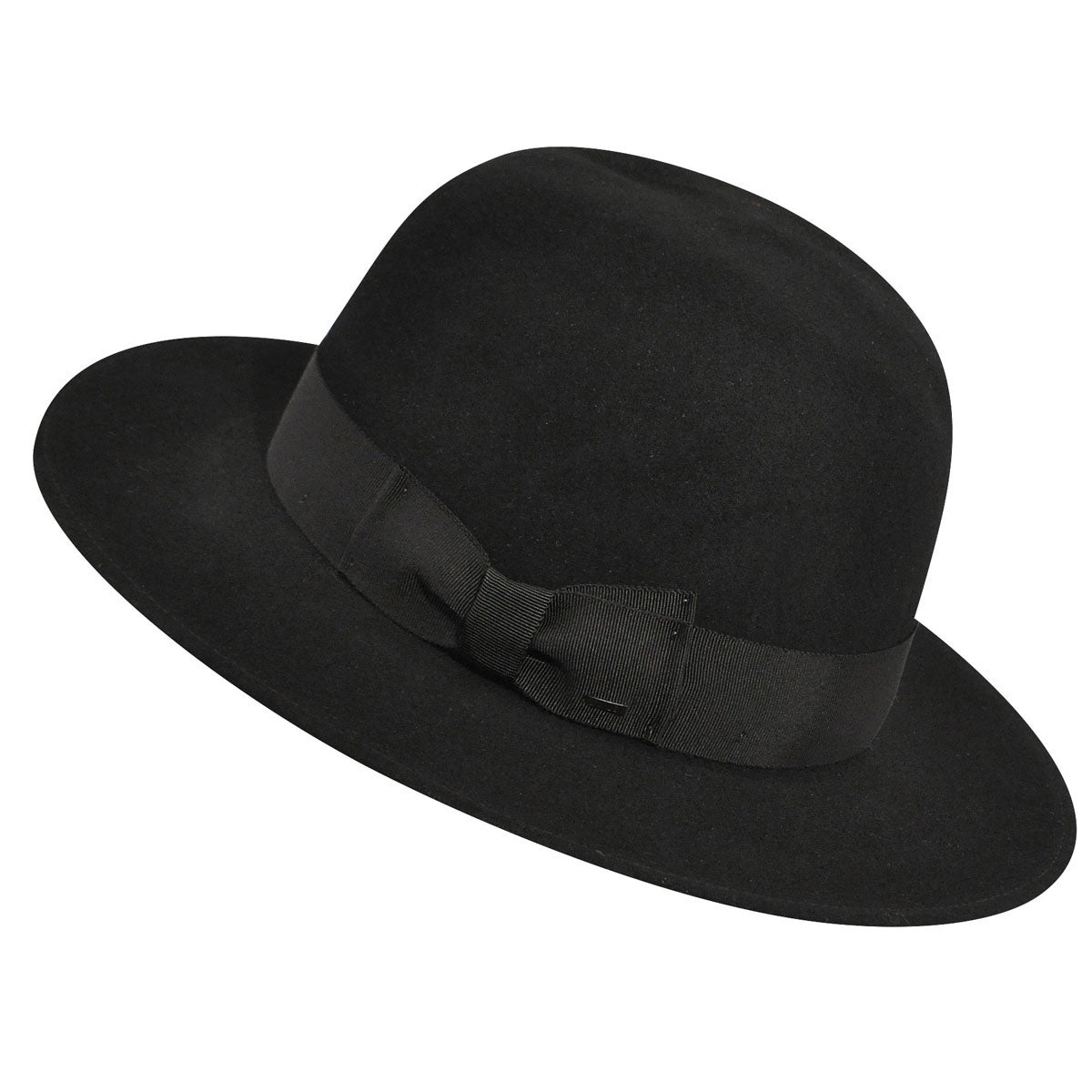 1930s Mens Hat Fashion Hiram Tall Crown Fedora $125.00 AT vintagedancer.com