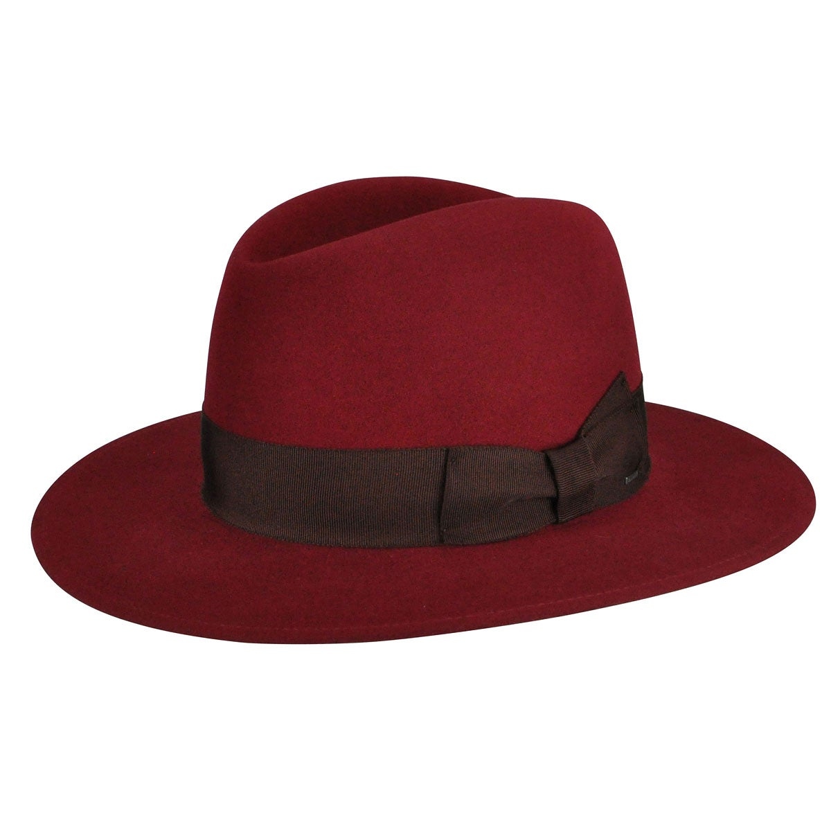 1920s Mens Hats – 8 Popular Styles Hiram Tall Crown Fedora $125.00 AT vintagedancer.com