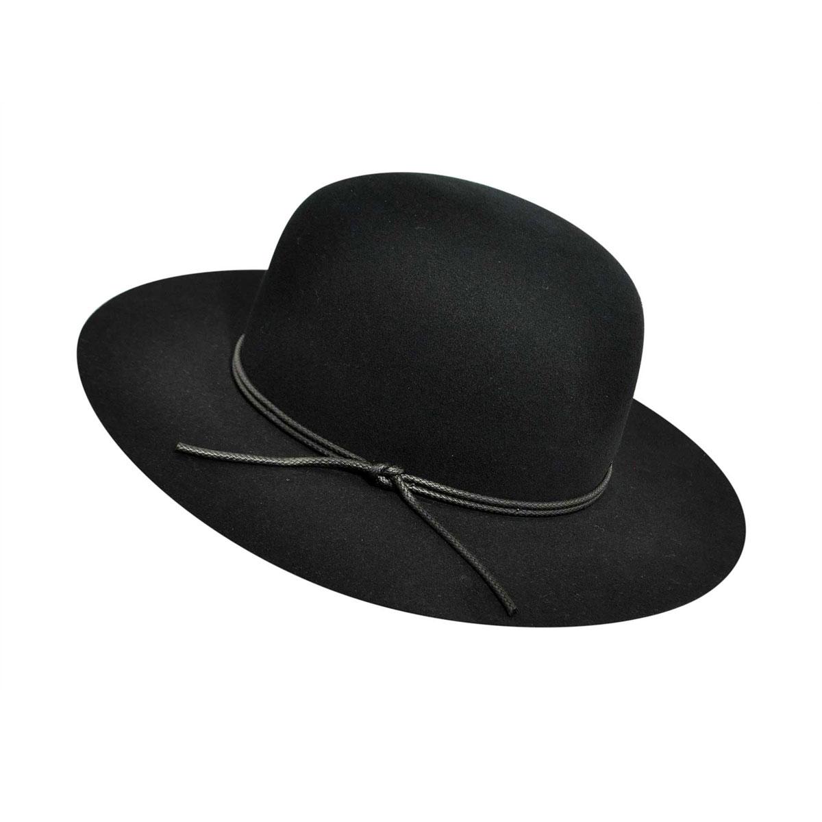1940s Mens Shoes | Gangster, Spectator, Black and White Shoes Rollin Fedora $135.00 AT vintagedancer.com