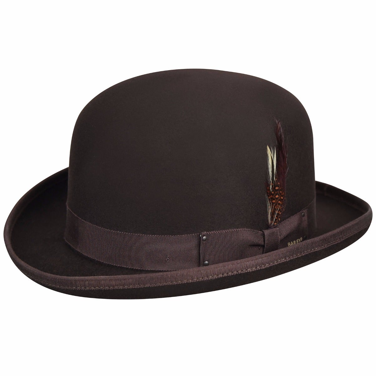 Bailey of Hollywood Derby Hat in Brown