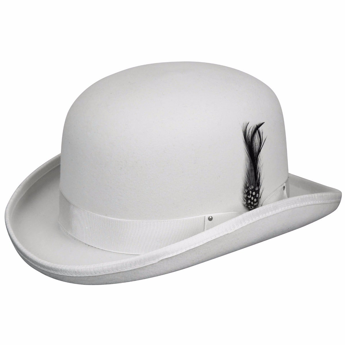 Bailey of Hollywood Derby Hat in White