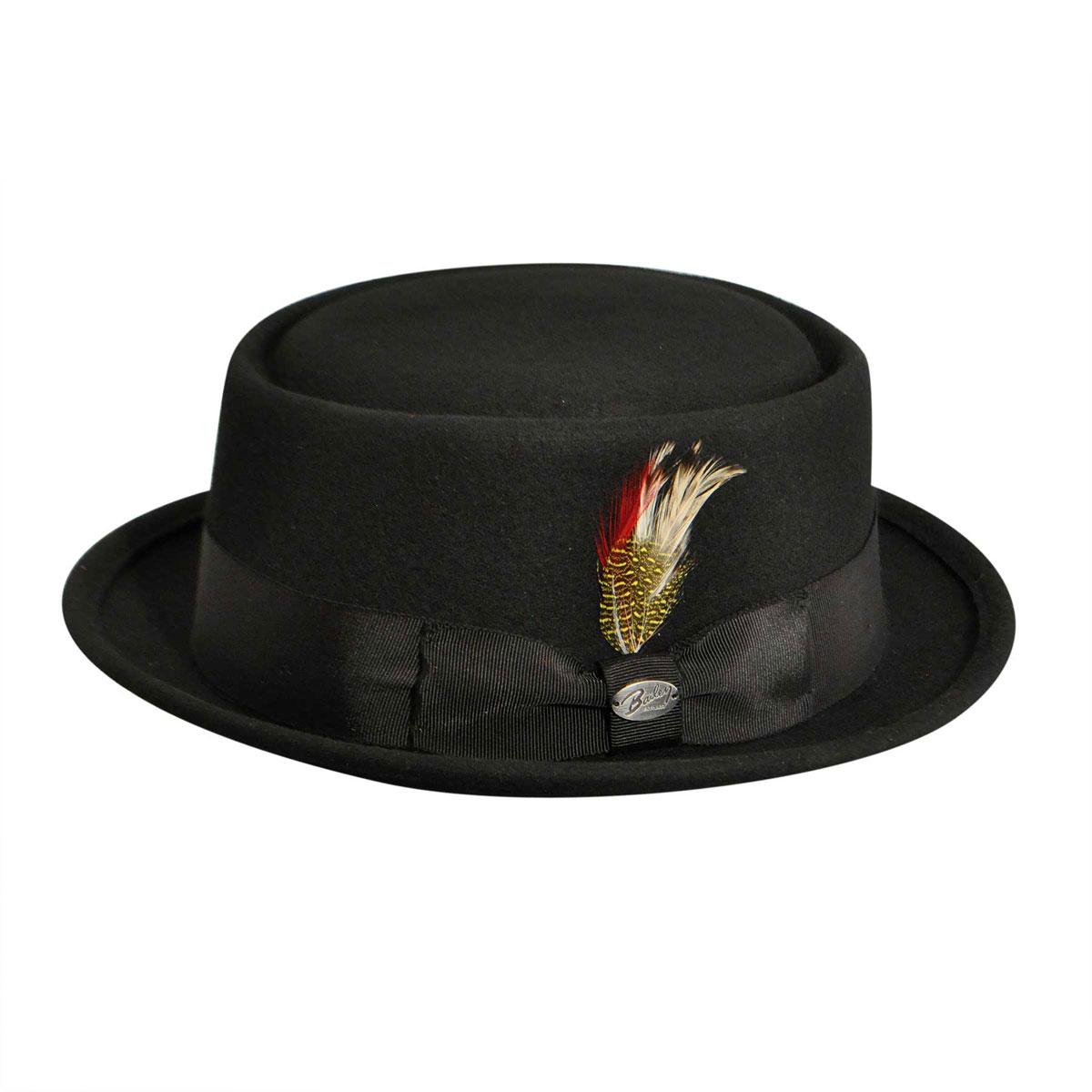 1940s Mens Hat Styles and History Arvid Pork Pie $60.00 AT vintagedancer.com