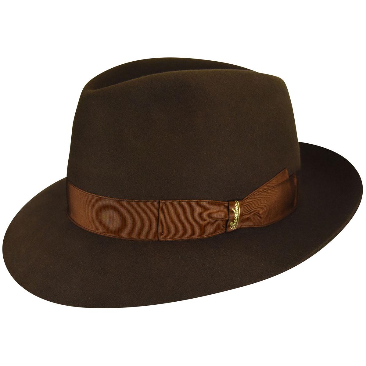1940s Mens Hat Styles and History Novara Fedora $320.00 AT vintagedancer.com
