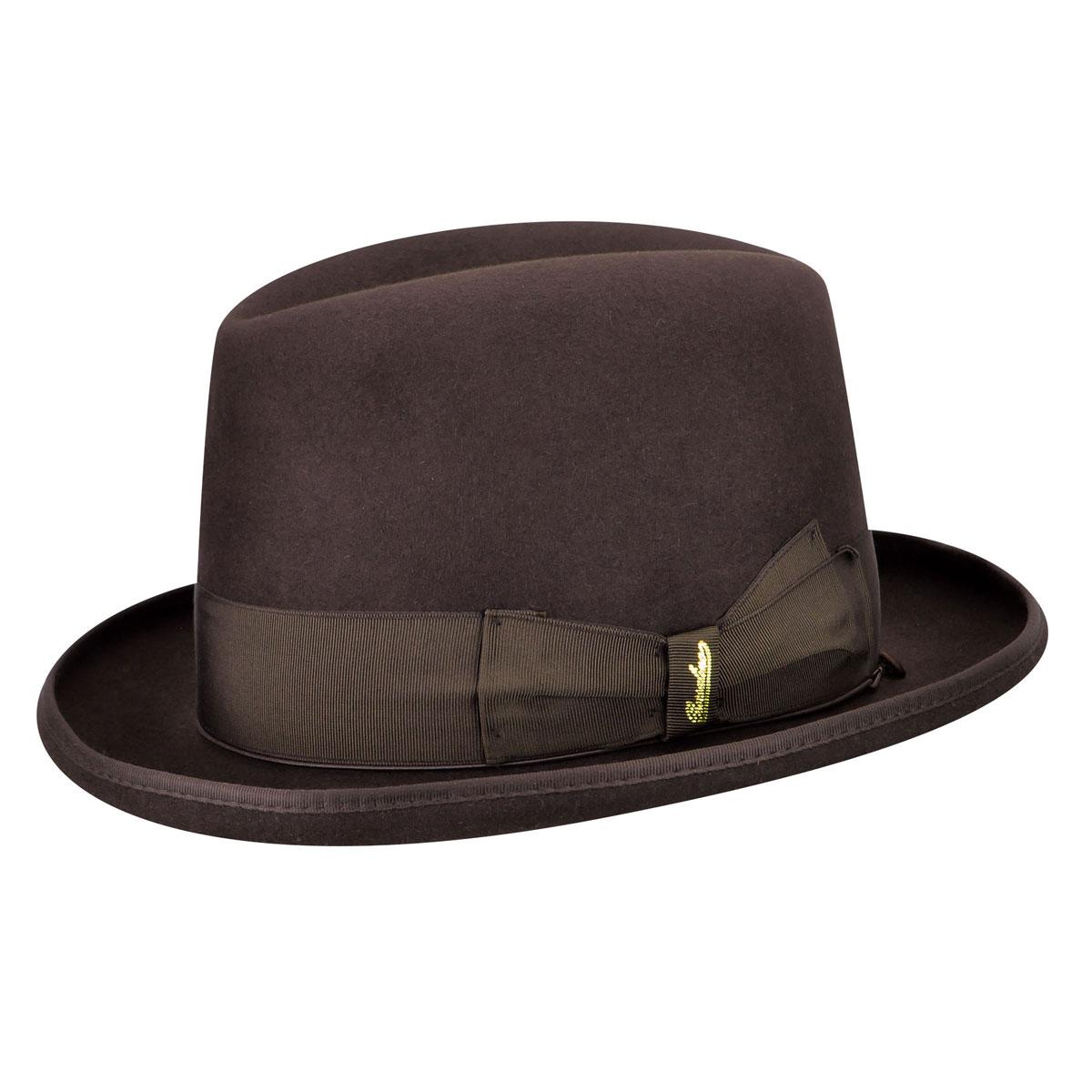 1930s Mens Hat Fashion Fur Felt Fedora $258.00 AT vintagedancer.com