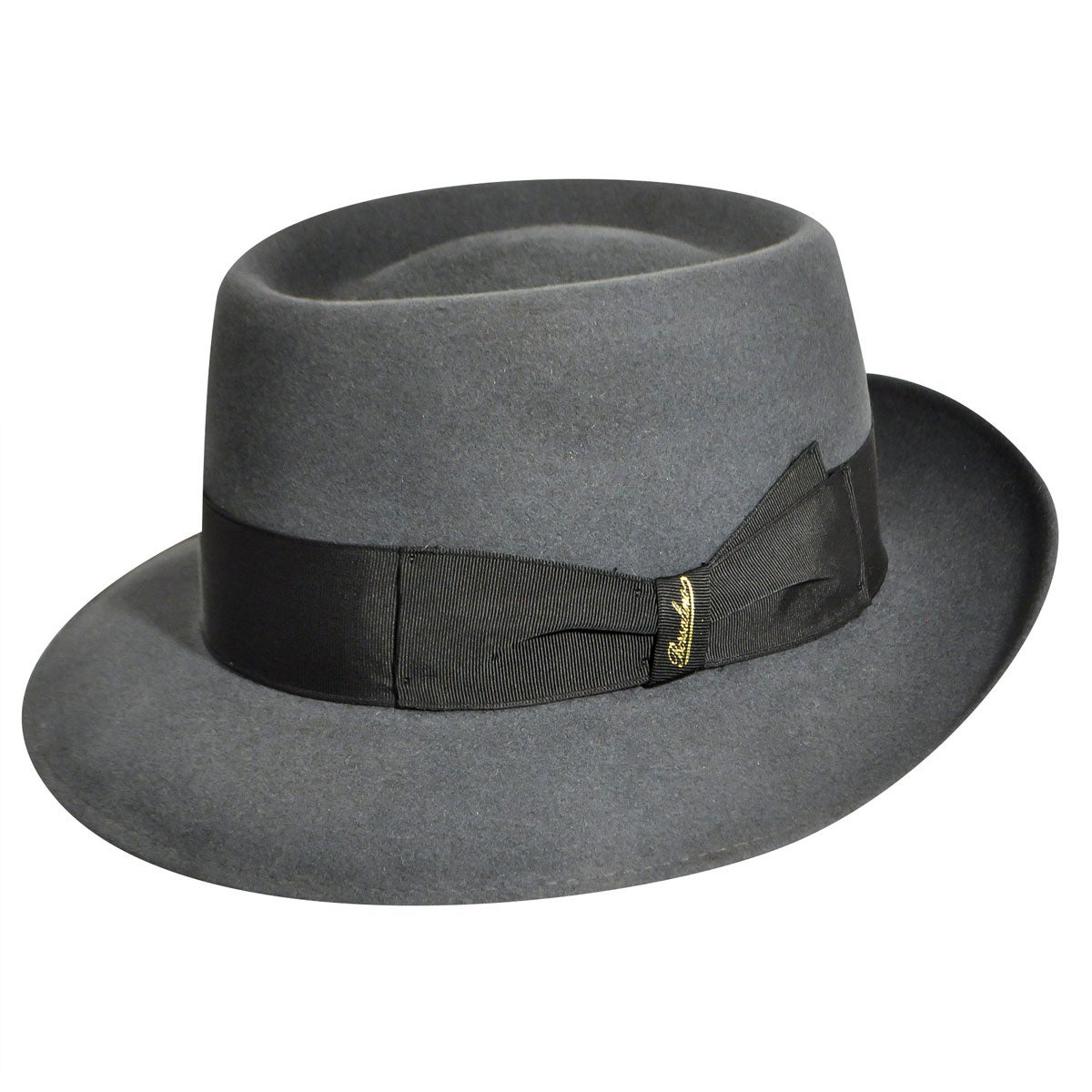 1940s Style Mens Hats Brindisi Fedora $342.00 AT vintagedancer.com