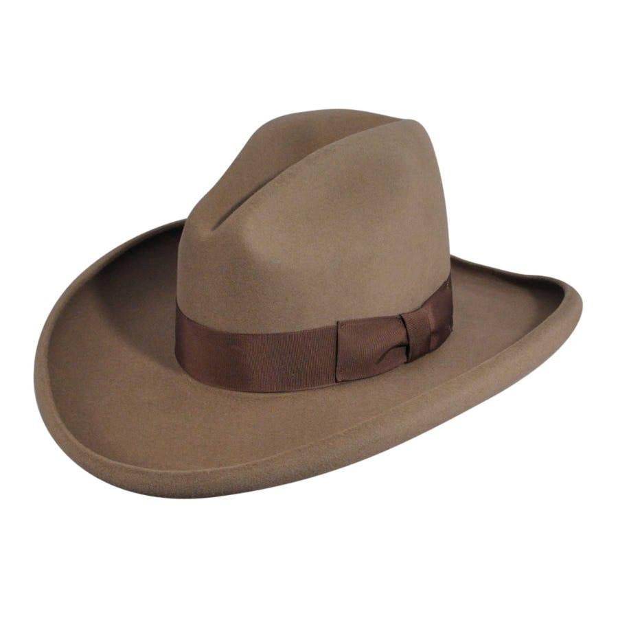 1940s Mens Hats | Fedora, Homburg, Pork Pie Hats Clayton Western Hat $128.00 AT vintagedancer.com