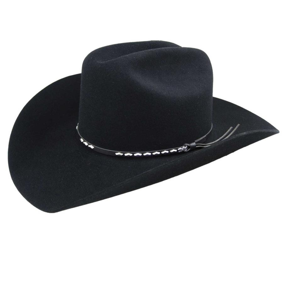 Bailey Western Alamo 2X Hat in Black