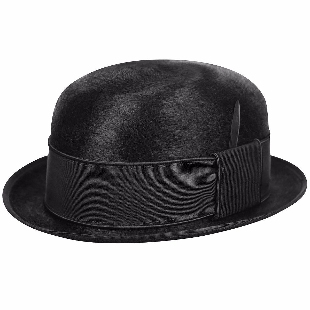 Steampunk Hats | Top Hats | Bowler Palance Bowler $250.00 AT vintagedancer.com
