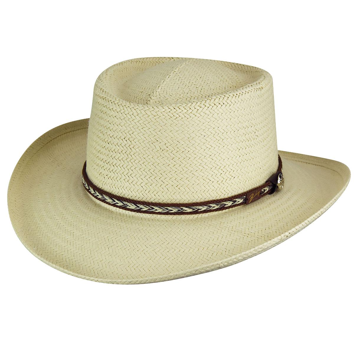 Steampunk Hats for Men | Top Hat, Bowler, Masks Rockett RainduraGambler - TanS $110.00 AT vintagedancer.com