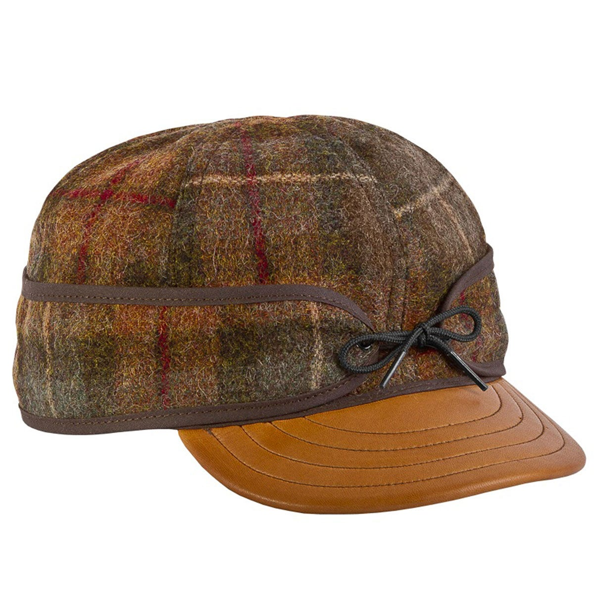 Original Stormy Kromer Cap with Deerskin Brim $49.99 AT vintagedancer.com