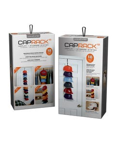 Cap Rack 18 Ballcap Holder