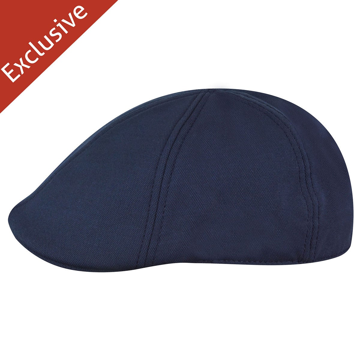 Hats.com Boris Flex Bamboo Cap in Navy