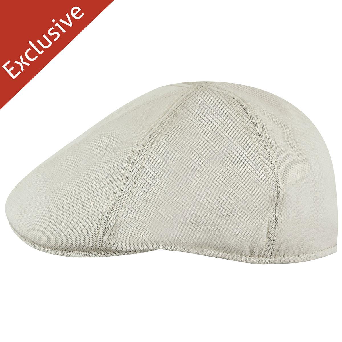 Hats.com Boris Flex Bamboo Cap in Stone