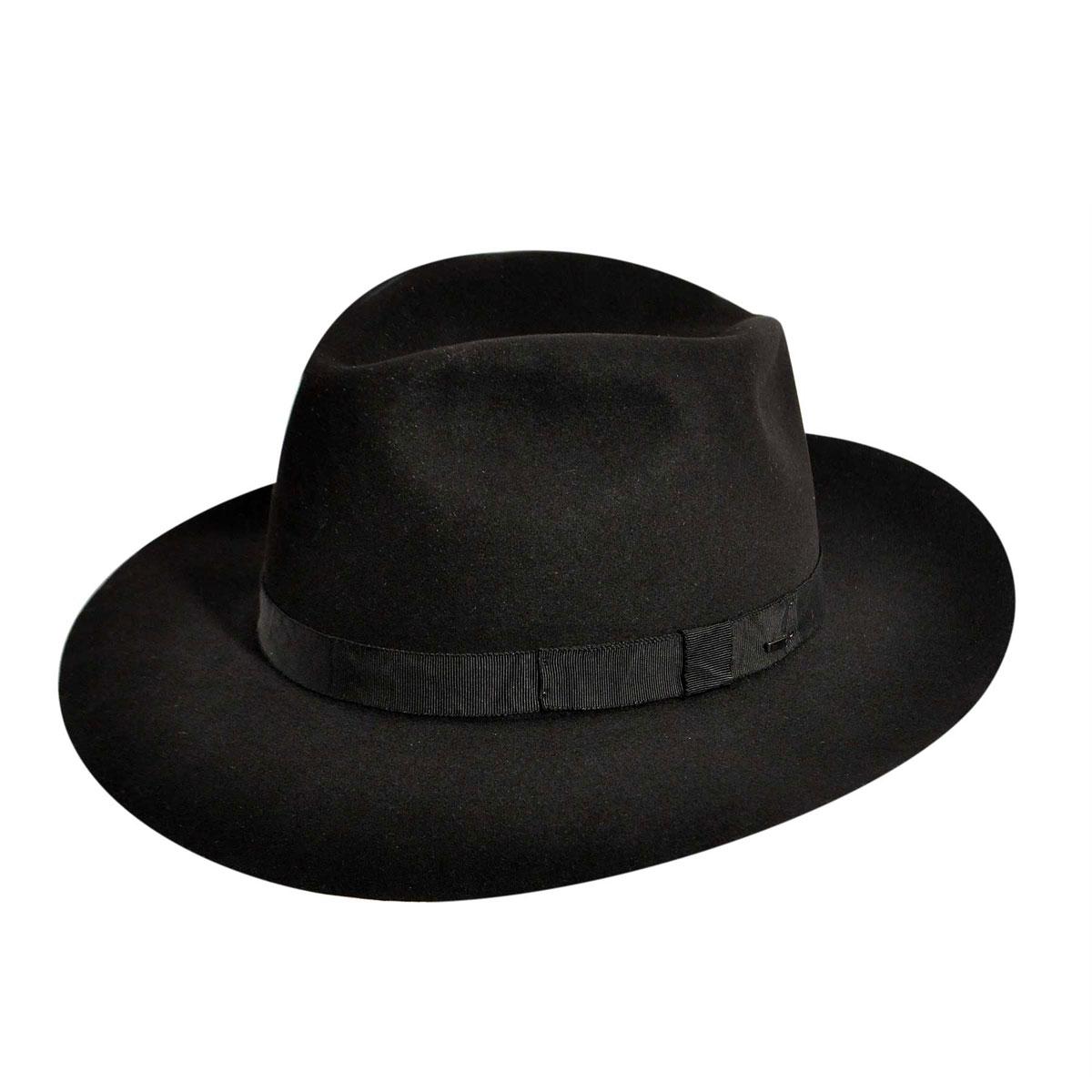 New Edwardian Style Men's Hats 1900-1920 Noble Fedora $350.00 AT vintagedancer.com