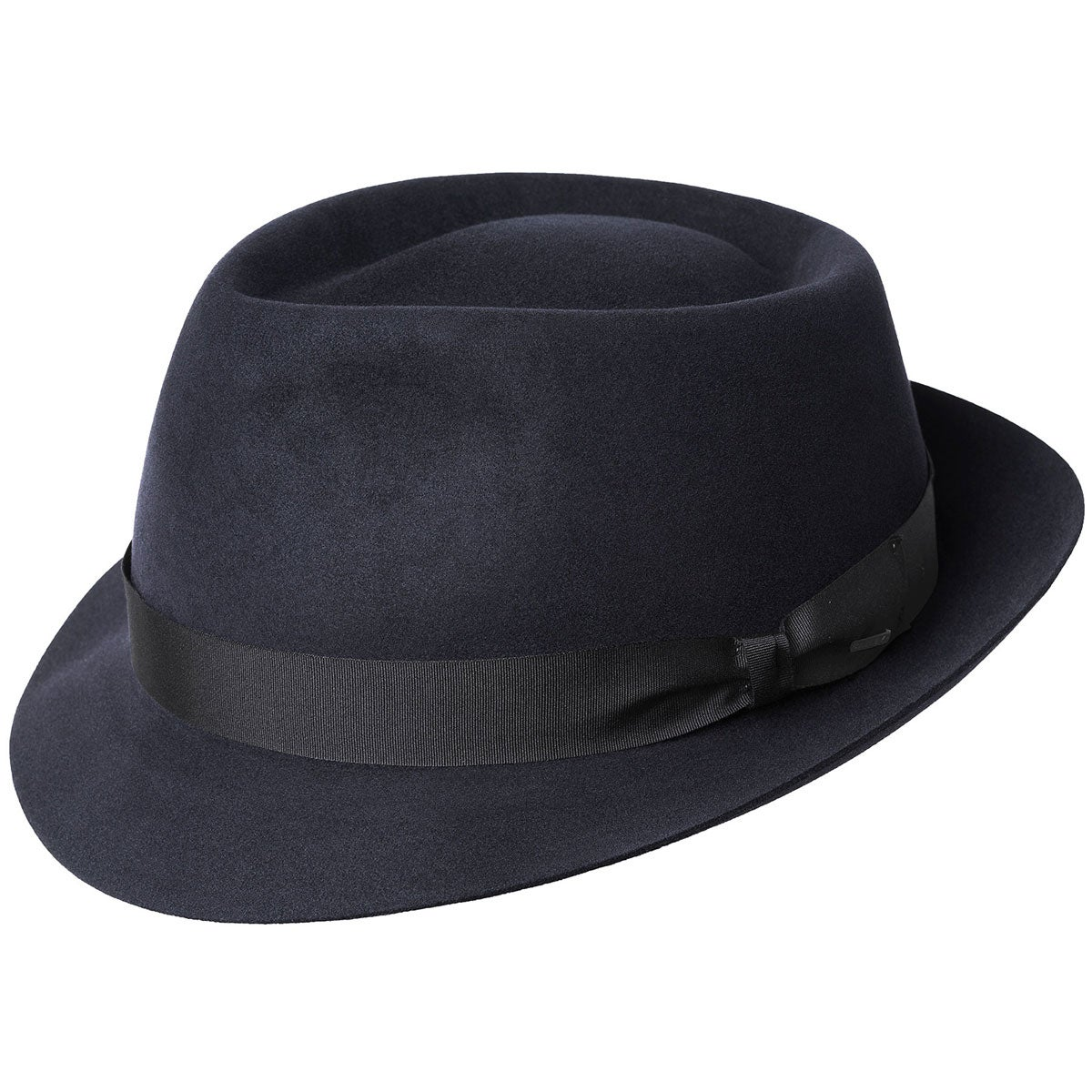 1960s – 70s Style Men's Hats Duffy II Trilby $130.00 AT vintagedancer.com