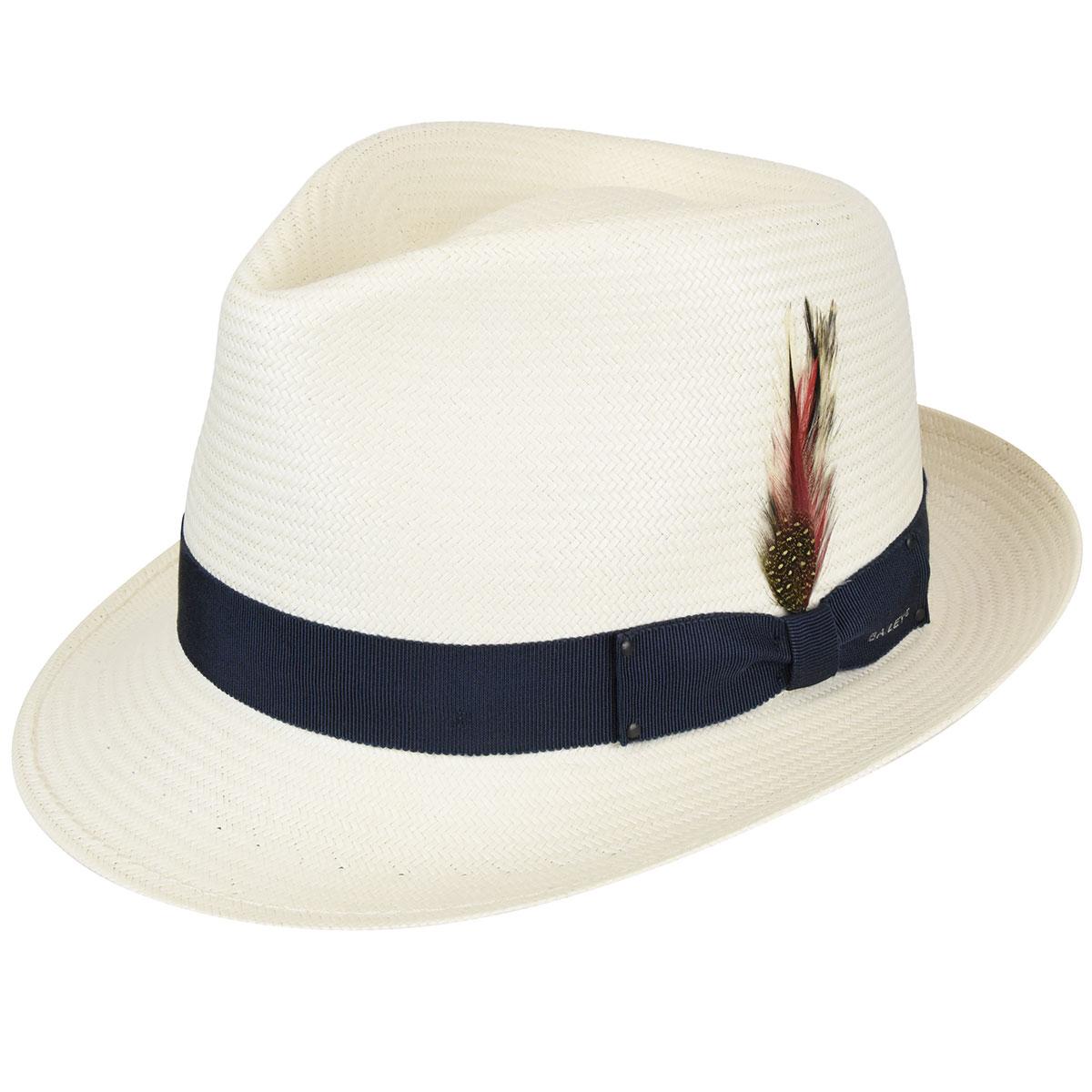 Men's Vintage Style Hats, Retro Hats Guthrie LitestrawFedora $130.00 AT vintagedancer.com