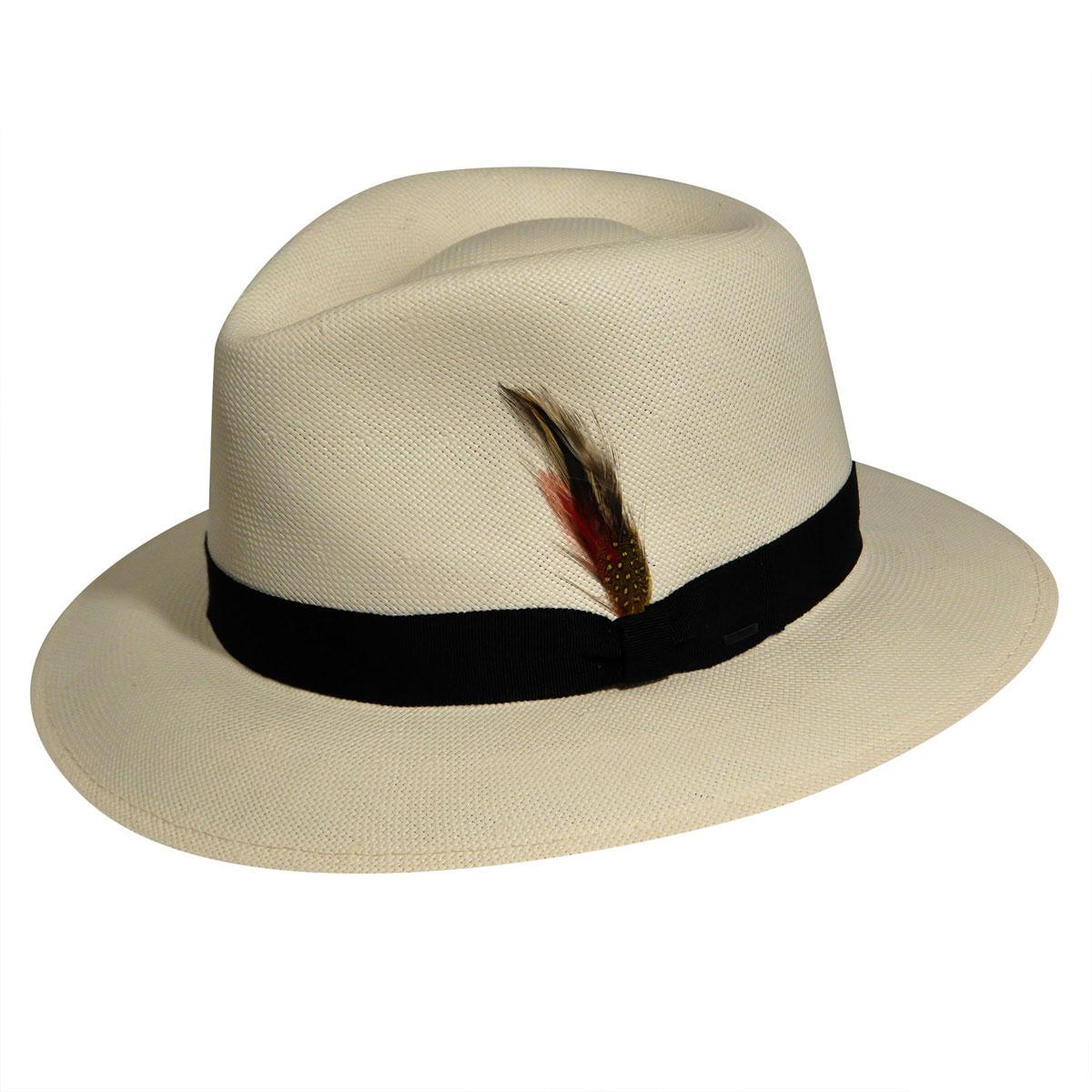 1940s Mens Hats | Fedora, Homburg, Pork Pie Hats Konrath LitestrawFedora $160.00 AT vintagedancer.com