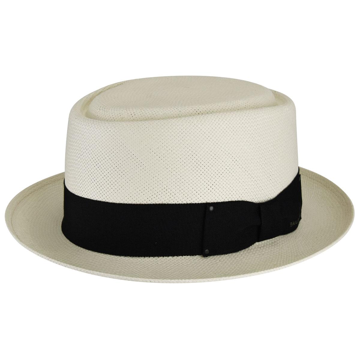 Men's Swing Dance Clothing to Keep You Cool Larkin LiteStrawreg Pork Pie $150.00 AT vintagedancer.com