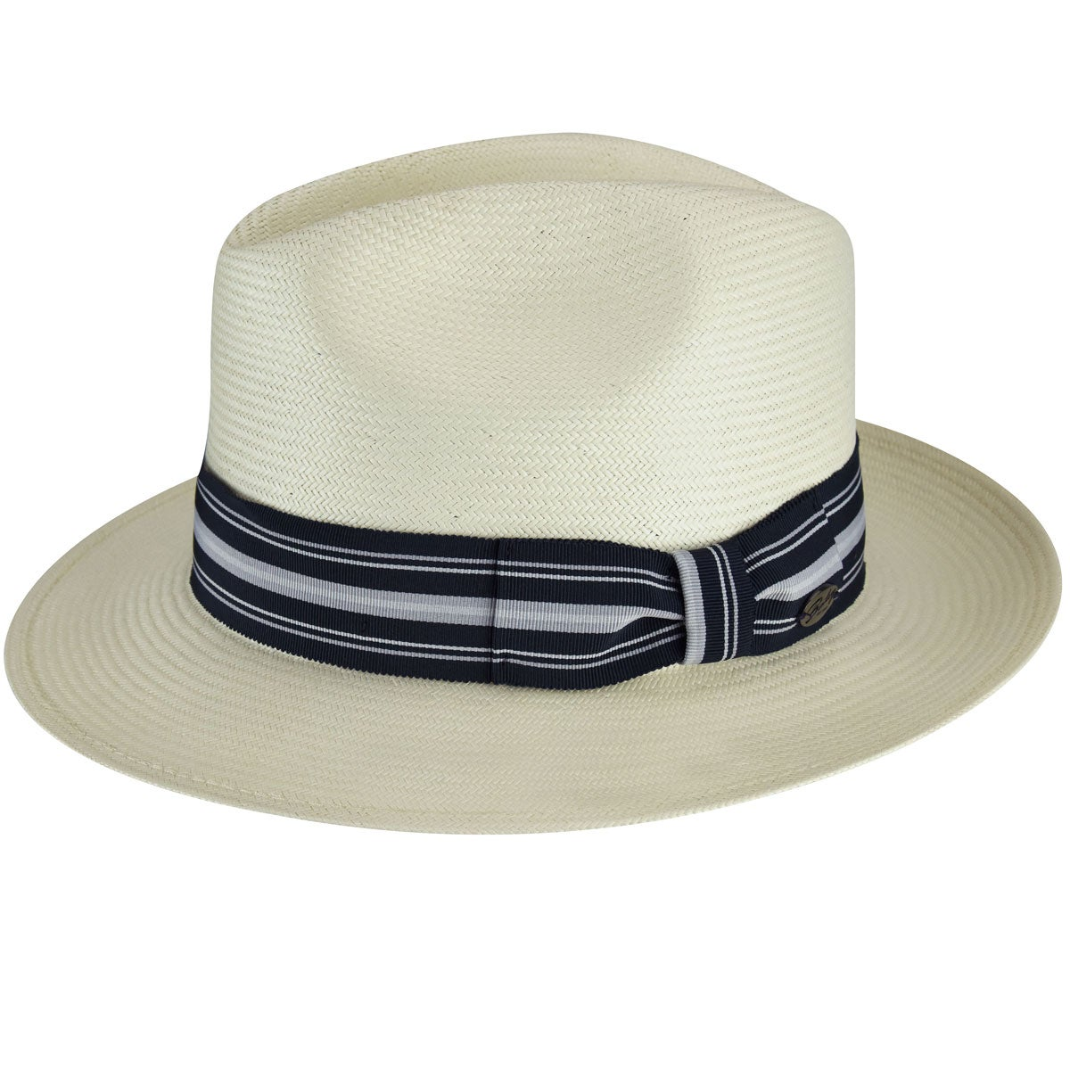 1930s Mens Hat Fashion Creel Litestraw reg Fedora $120.00 AT vintagedancer.com