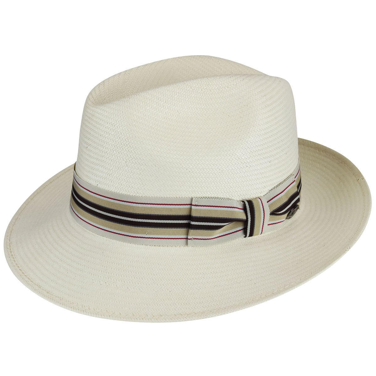 Rockabilly Men's Clothing Creel LiteStrawreg Fedora $115.00 AT vintagedancer.com
