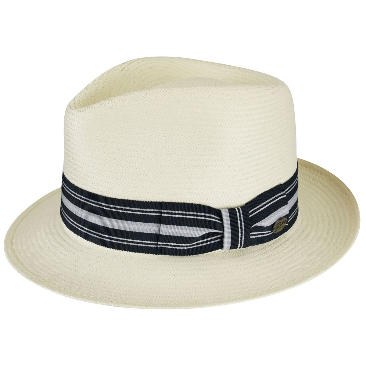 1950s Mens Hats | 50s Vintage Men's Hats Tharp LiteStraw Fedora $135.00 AT vintagedancer.com