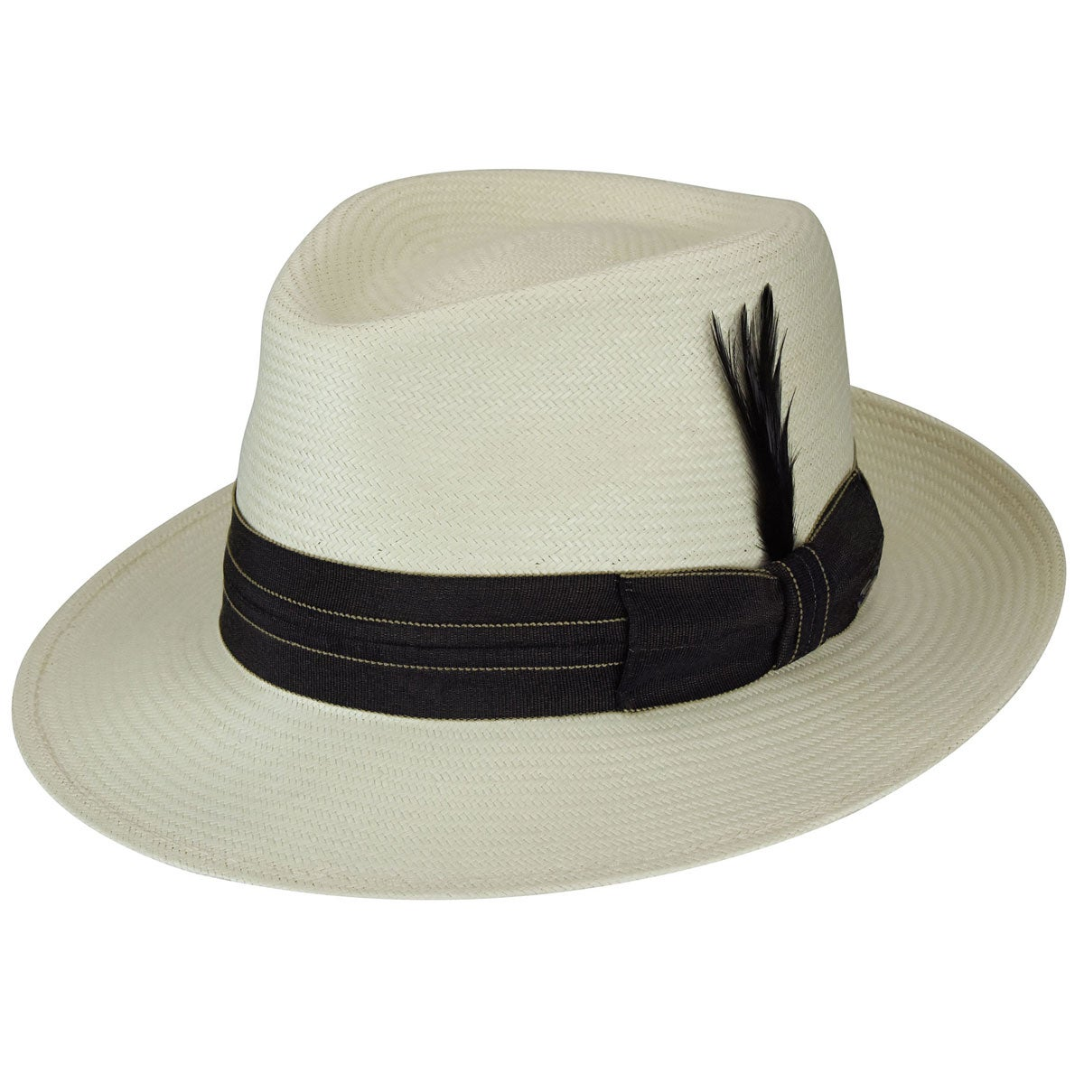 Bailey of Hollywood Anderson LiteStraw Fedora in Natural