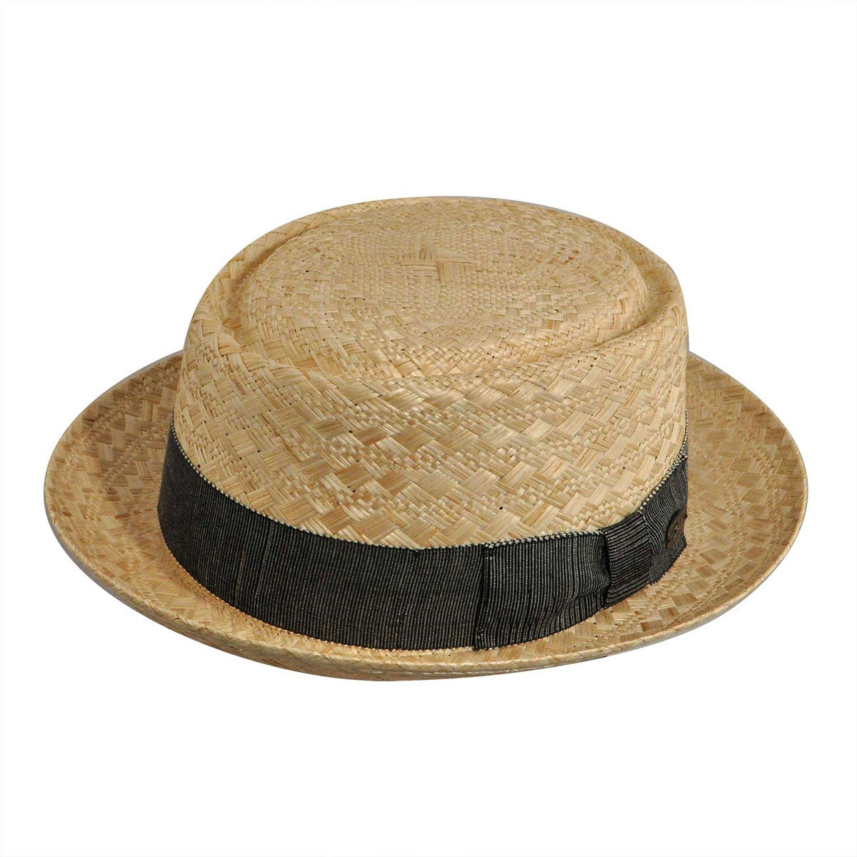 1930s Mens Hat Fashion Vadis Litestraw reg Pork Pie $100.00 AT vintagedancer.com