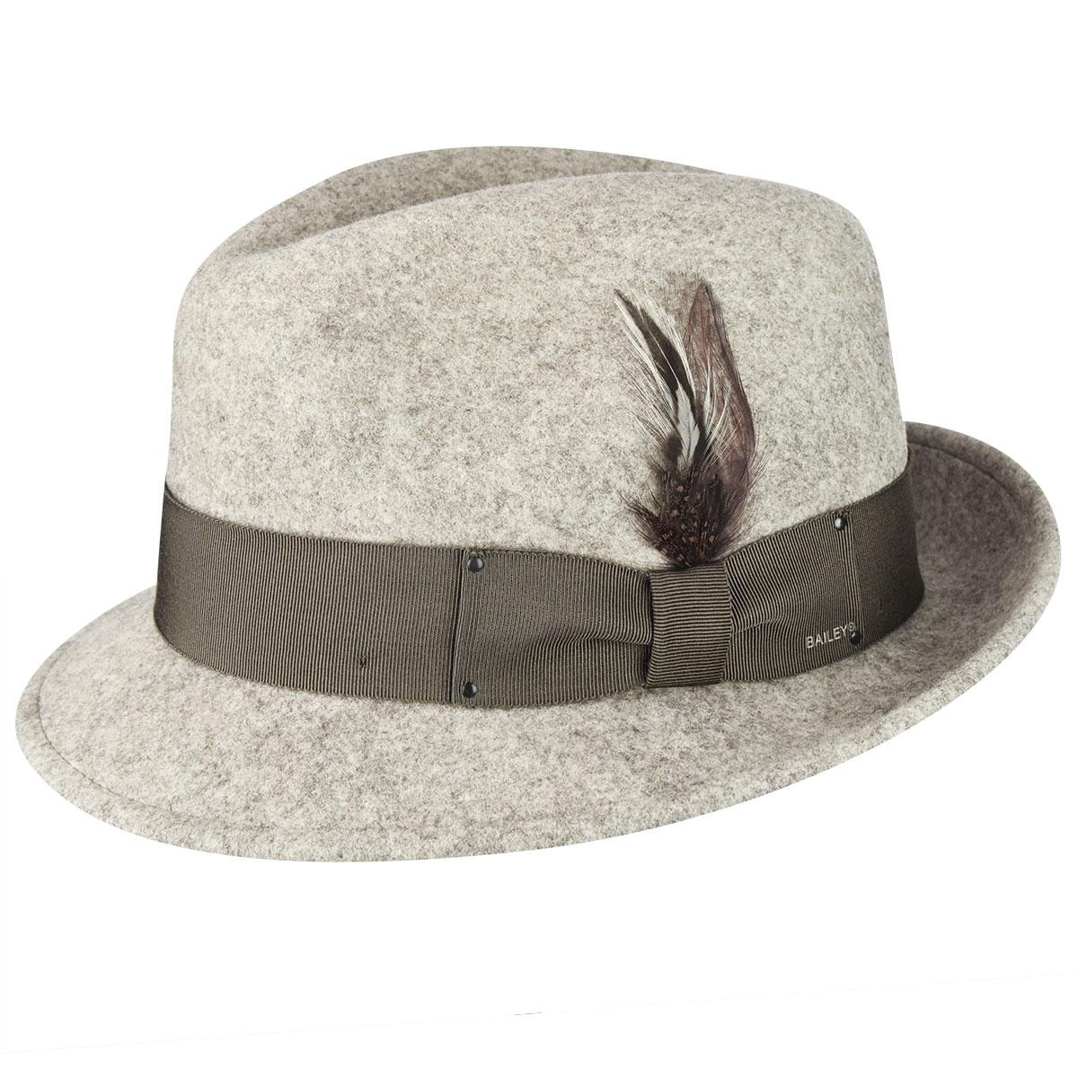Men's Vintage Style Hats, Retro Hats Tino LiteFeltFedora $100.00 AT vintagedancer.com