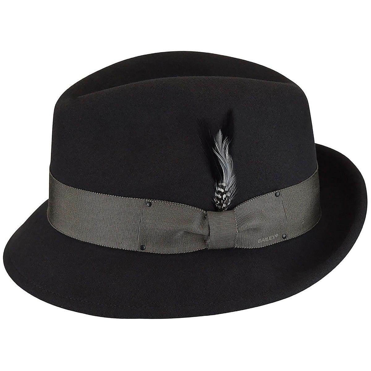 1940s Mens Hats | Fedora, Homburg, Pork Pie Hats Tino LiteFelt Fedora $100.00 AT vintagedancer.com