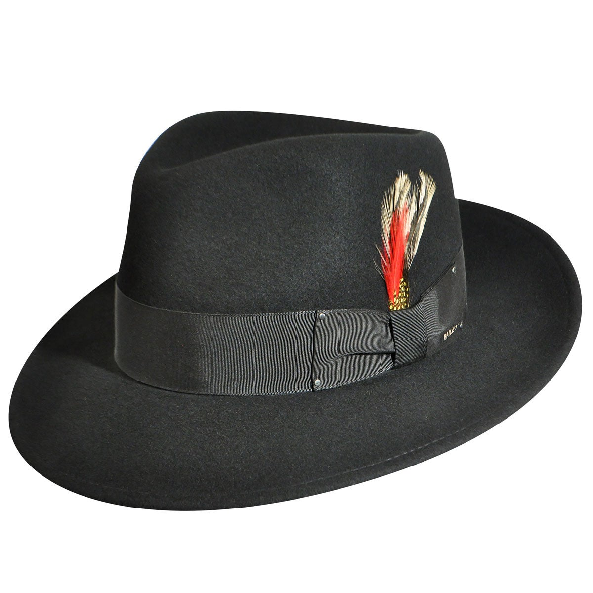 Bailey of Hollywood Classic LiteFelt Fedora in Black