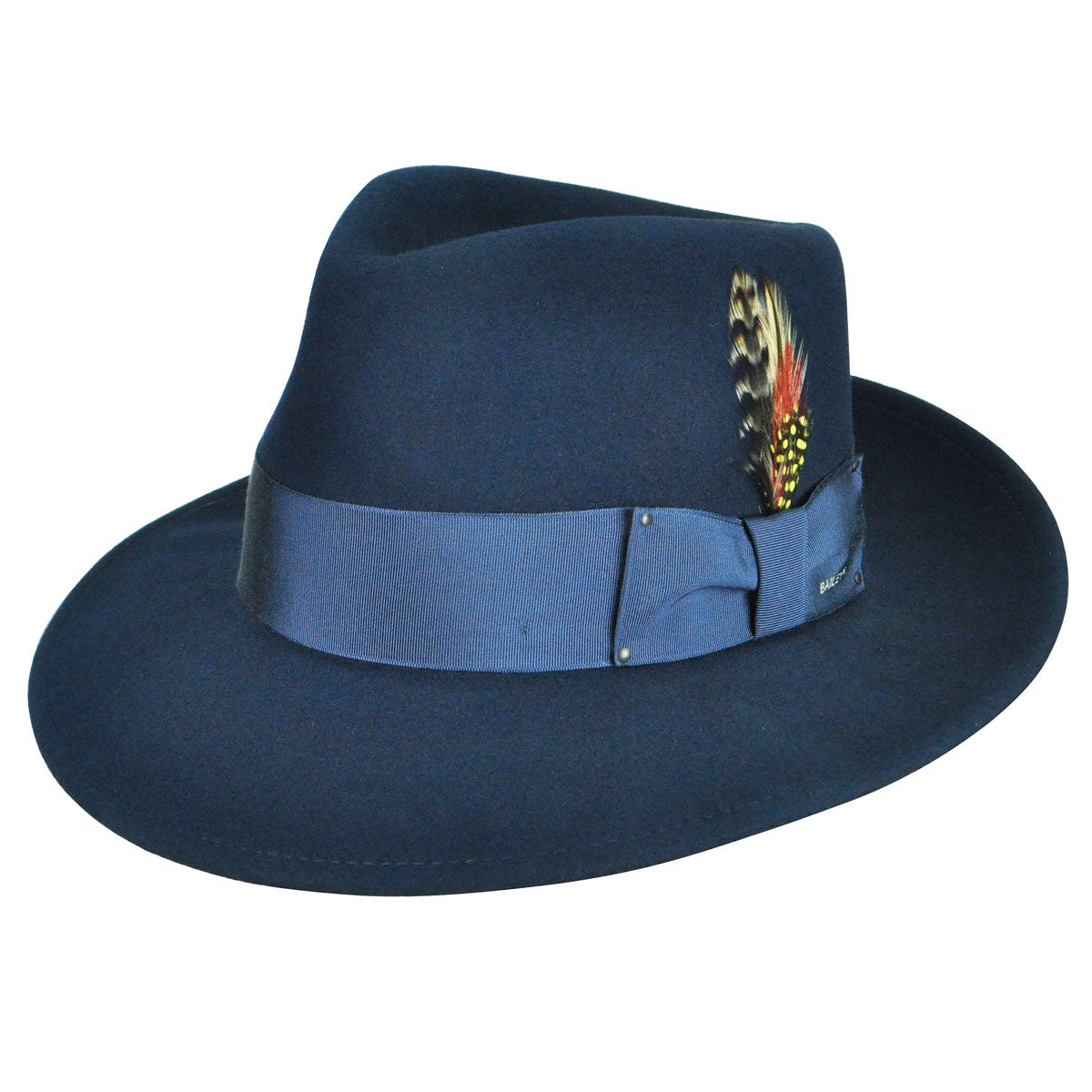 Rockabilly Men's Clothing Fedora Litefelt reg Hat $90.00 AT vintagedancer.com