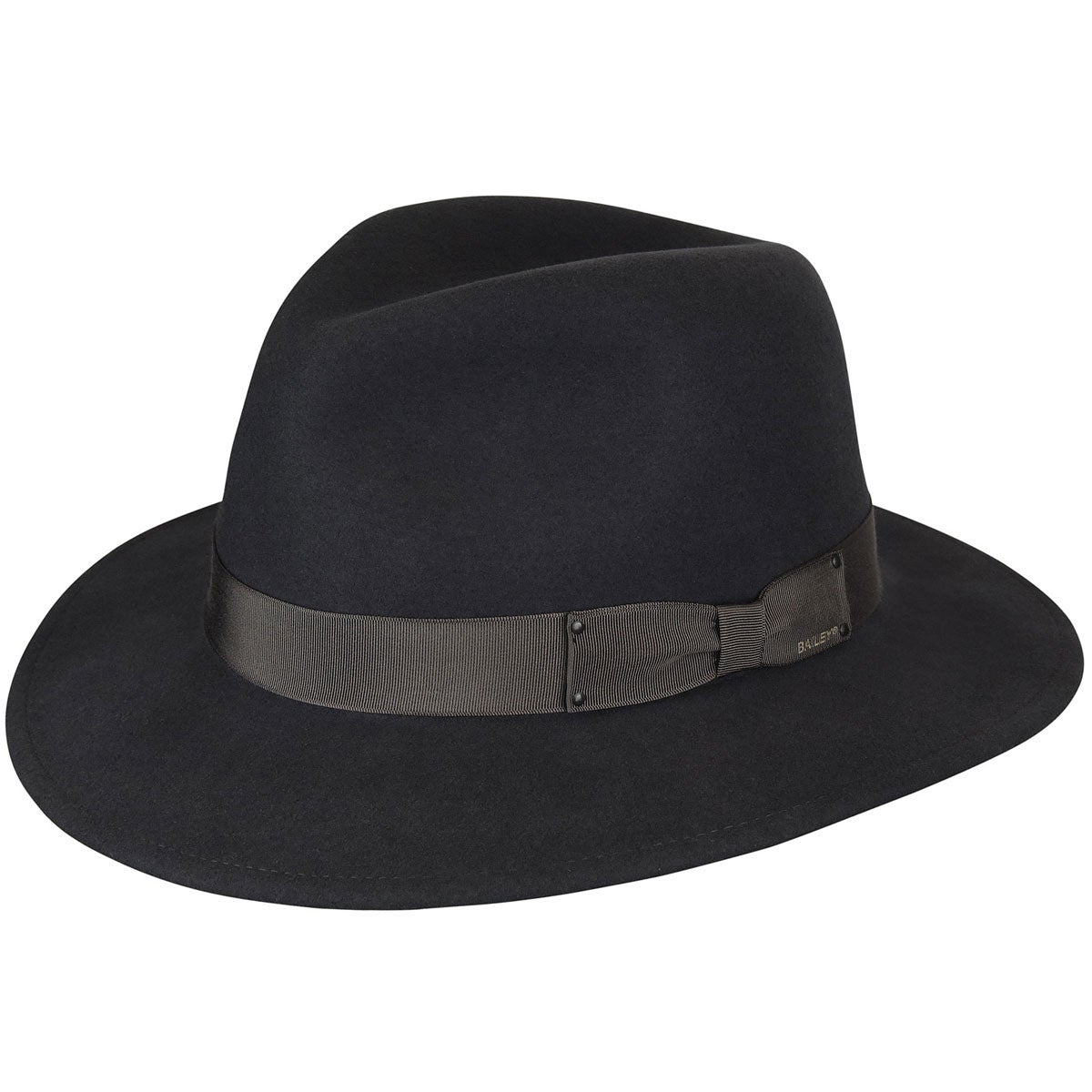 Bailey of Hollywood Curtis LiteFelt Fedora in Grey