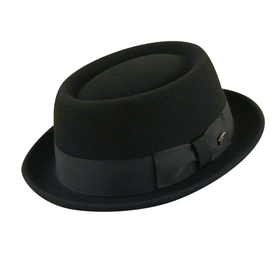 1950s Mens Hats | 50s Vintage Men's Hats Darron LiteFelt reg Pork Pie $95.00 AT vintagedancer.com
