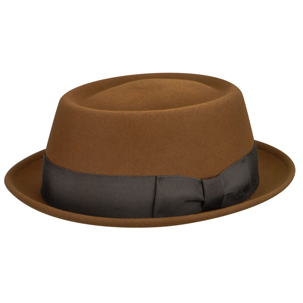 1940s Style Mens Hats Darron LiteFelt reg Pork Pie $80.00 AT vintagedancer.com