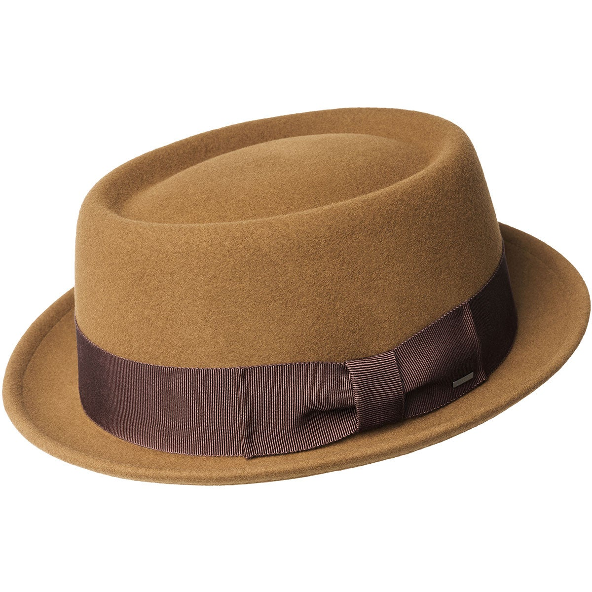 1950s Mens Hats | 50s Vintage Men's Hats Darron LiteFelt Pork Pie $95.00 AT vintagedancer.com
