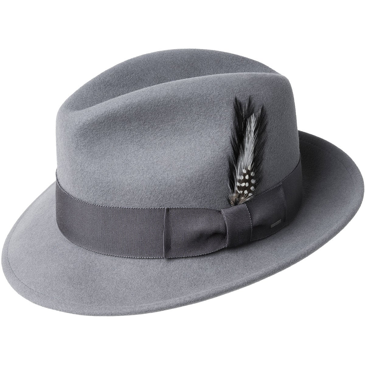 1930s Style Mens Hats and Caps Blixen Limited Edition Fedora - AshS $73.50 AT vintagedancer.com