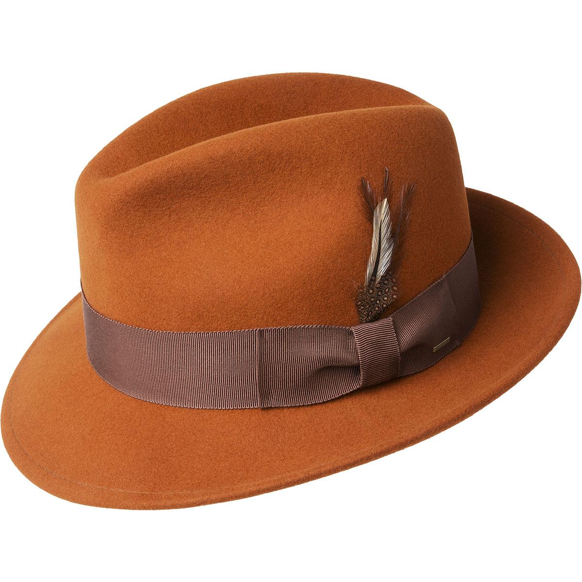 Men's Vintage Style Hats, Retro Hats Blixen Limited Edition Fedora $98.00 AT vintagedancer.com
