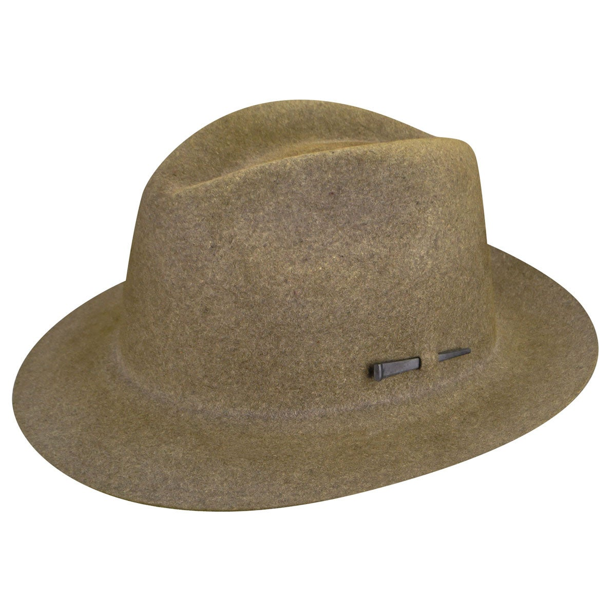 Bailey of Hollywood Atmore Fedora in Medium Brown Mix