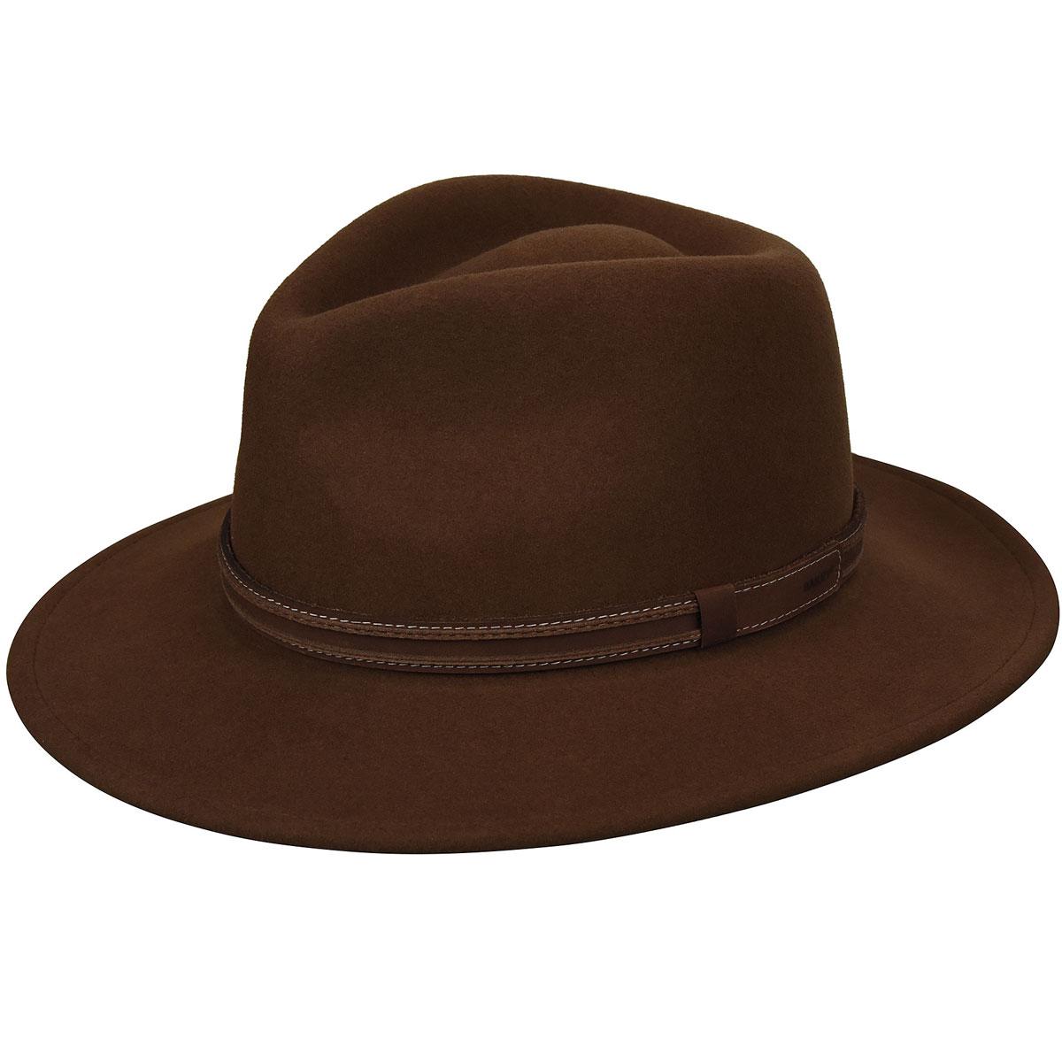 1950s Mens Hats | 50s Vintage Men's Hats Camden LiteFeltFedora $86.25 AT vintagedancer.com