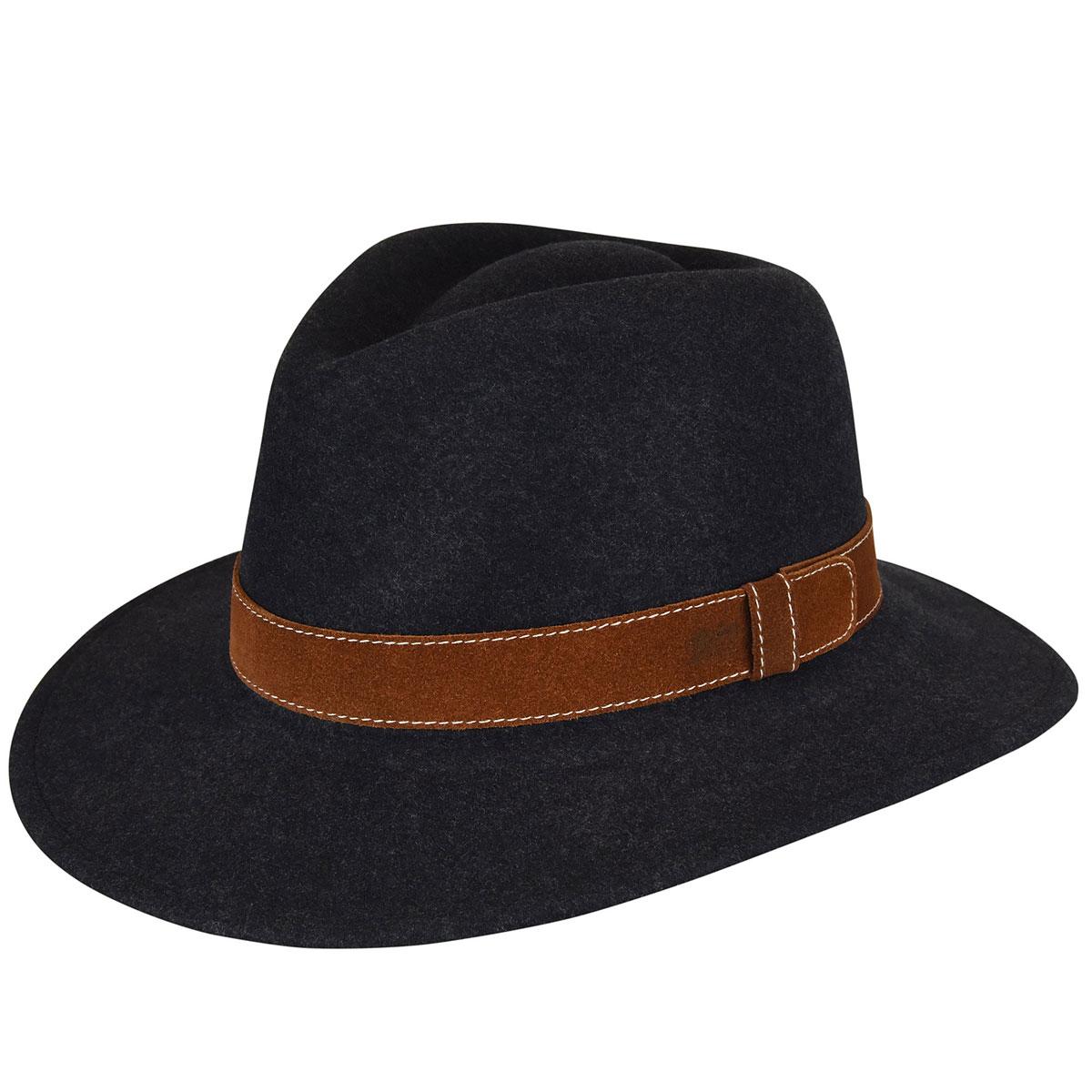 1960s – 70s Style Men's Hats Larden LiteFeltFedora $82.50 AT vintagedancer.com