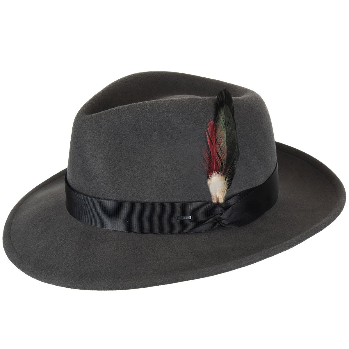 1940s Mens Hats | Fedora, Homburg, Pork Pie Hats Metrick LiteFelt Fedora $90.00 AT vintagedancer.com