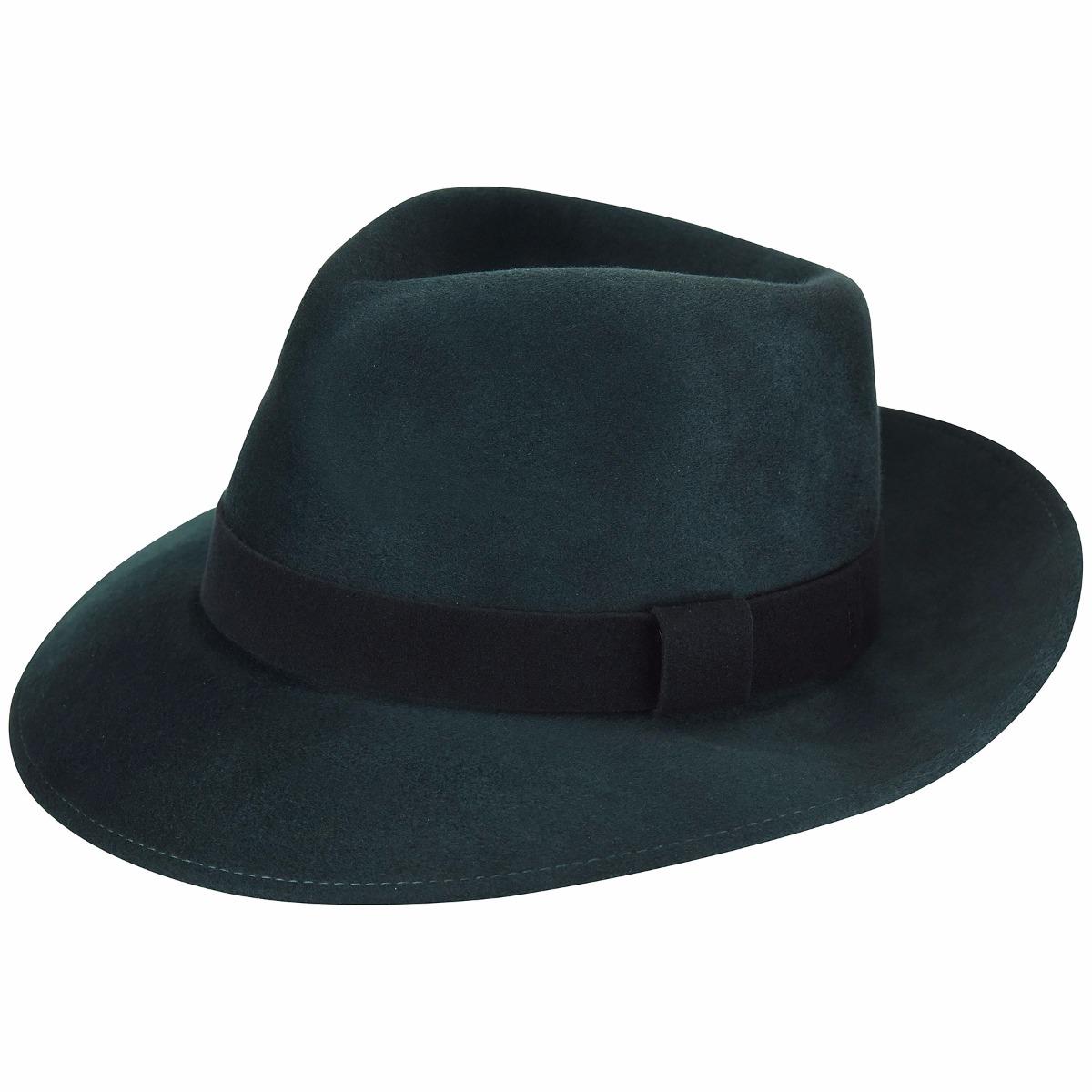 1950s Mens Hats | 50s Vintage Men's Hats Lanth Fedora $135.00 AT vintagedancer.com