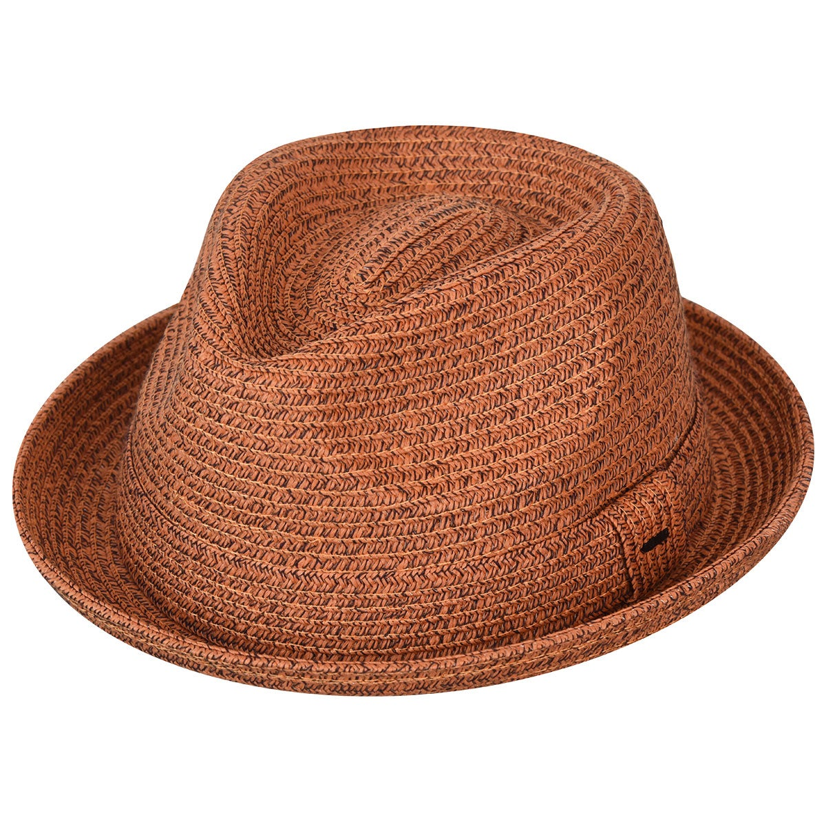 Bailey of Hollywood Billy Braided Trilby in Rust