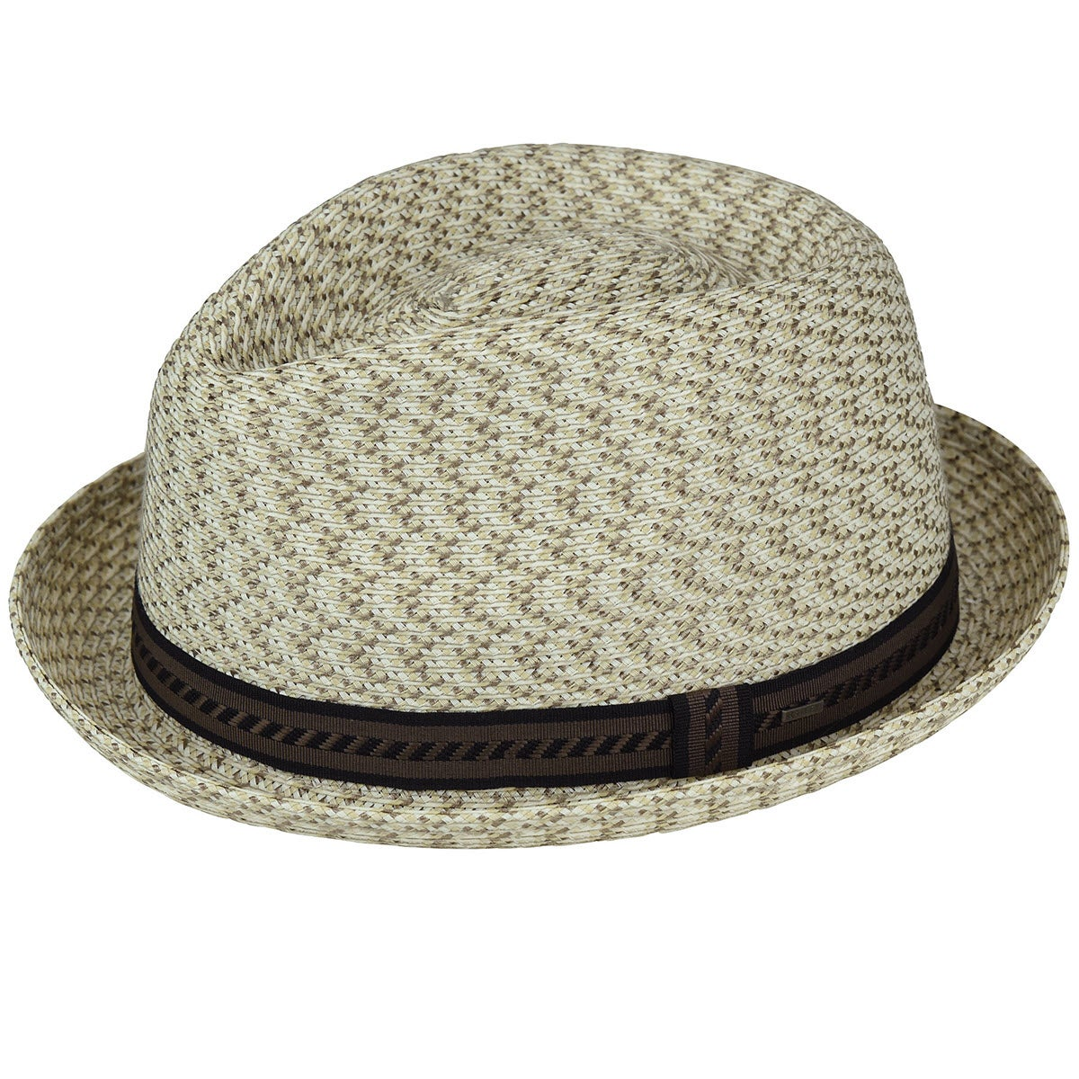 1960s – 70s Style Men's Hats Mannes Braided Trilby $46.20 AT vintagedancer.com