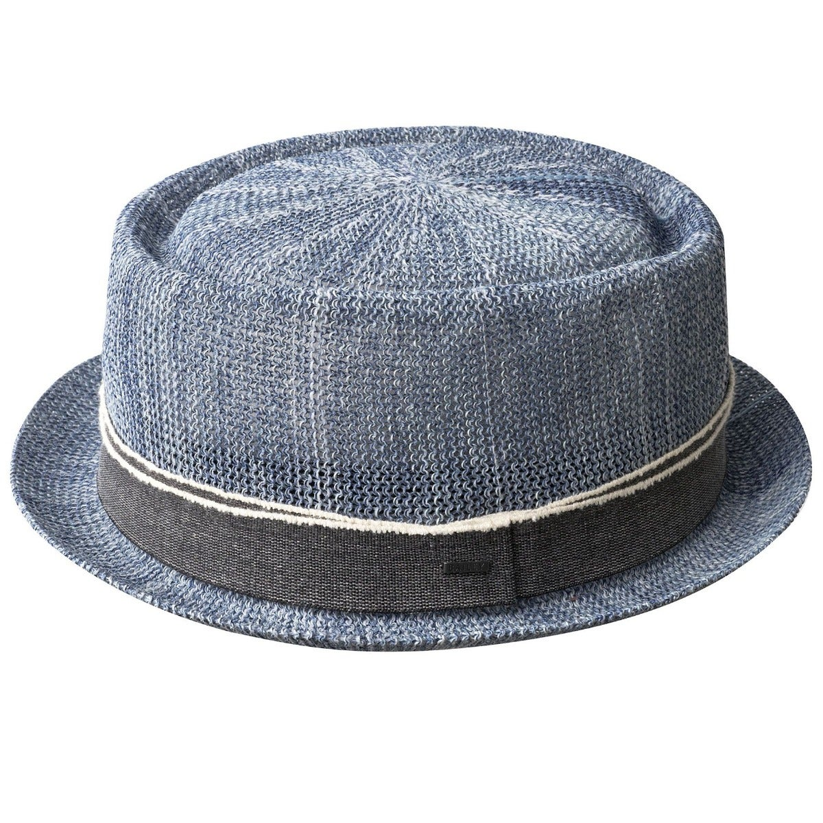 1950s Mens Hats | 50s Vintage Men's Hats Runkle Straw Pork Pie $80.00 AT vintagedancer.com