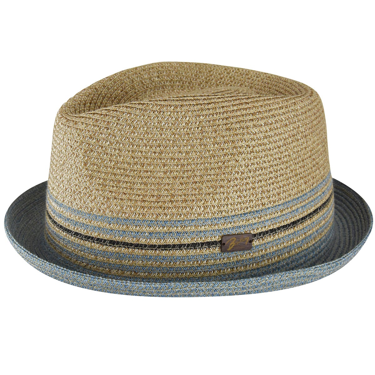 Bailey of Hollywood Hooper Toyo Braid Trilby in Natural